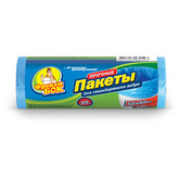 Пакет для мусора Фрекен БОК полиэтилен 50*60 синий 35 л / 30 шт. (70 шт. / ящ.)