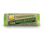 Пакет для мусора Фрекен БОК полиэтилен 50*60 БИО зеленый 35 л / 30 шт. (70 шт. / ящ.)