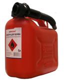 Канистра для бензина пластиковая Autoexpert (Польша) 5 л